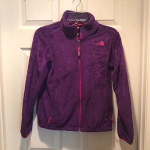 Youth size Large The North Face fleece